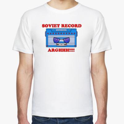 Футболка Soviet record