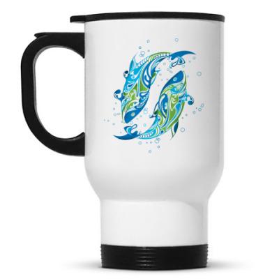 Кружка-термос Рыбки
