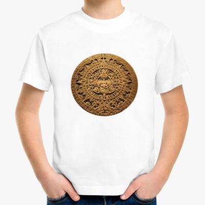 Детская футболка Детская ``Солнце ацтеков``