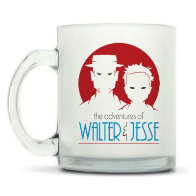 Кружка матовая Уолтер и Джесси
