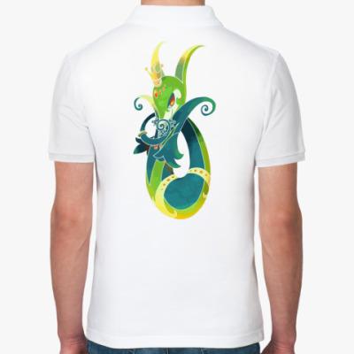Рубашка поло Змейка