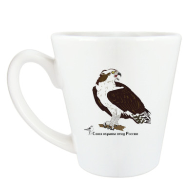 Чашка Латте Скопа - птица 2018 года