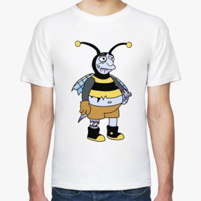 Футболка Зомби пчела