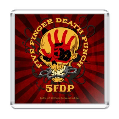 Магнит Five Finger Death Punch