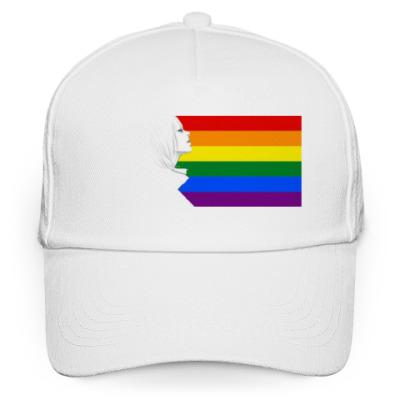 Кепка бейсболка LGBT flag