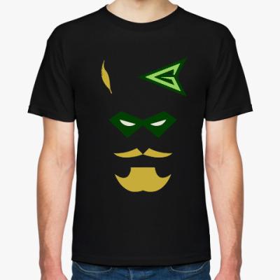 Футболка Green Arrow-Зеленая Стрела