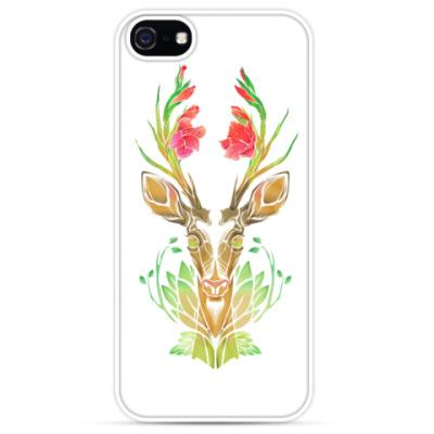Чехол для iPhone Spring Gladiolus Deer/ Цветочный