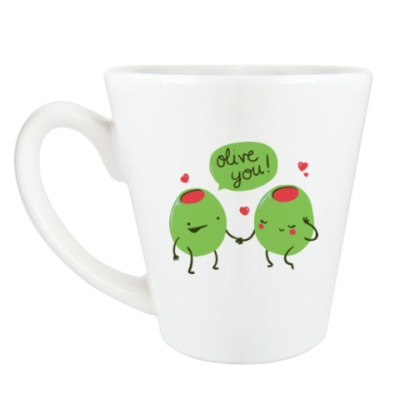 Чашка Латте Olive You