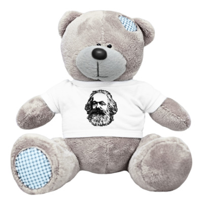 Плюшевый мишка Тедди Мишка  Карл Маркс