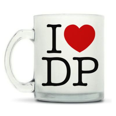 Кружка матовая I love Deadpool (DP), Дэдпул-сердце (heart)