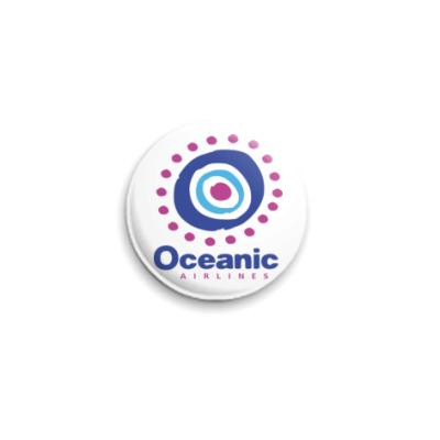 Значок 25мм Oceanic Airliles