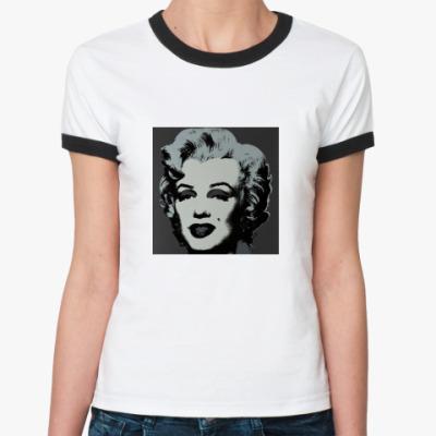 Женская футболка Ringer-T Монро