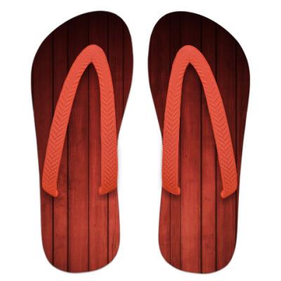 Шлепанцы (сланцы)  Red Wood