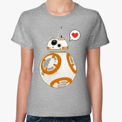Женская футболка Sphero's Star Wars BB-8 Droid