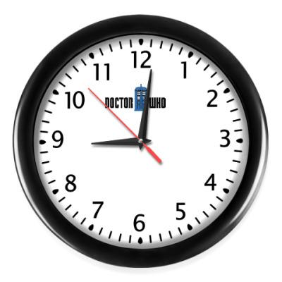 Настенные часы TARDIS