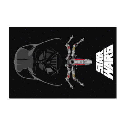 Наклейка (стикер) Star Wars - Darth Vader