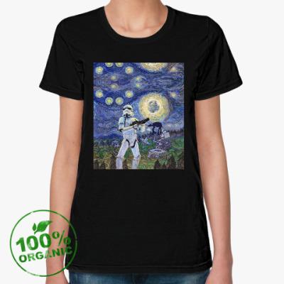 Женская футболка из органик-хлопка Star Wars Starry Night