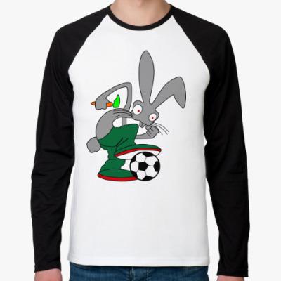 Футболка реглан с длинным рукавом Rabbit