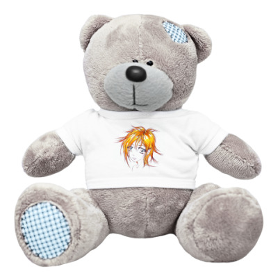Плюшевый мишка Тедди Рыжик