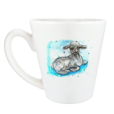 Чашка Латте барашeк