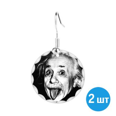 Серьги 'Albert Einstein'