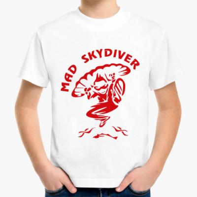Детская футболка MAD SKYDIVER