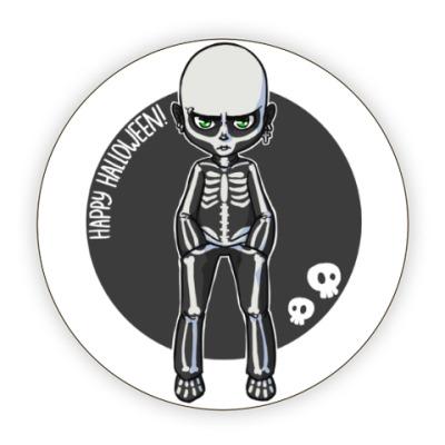 Костер (подставка под кружку) Скелет