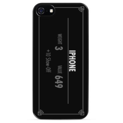 Чехол для iPhone Дизайн в стиле Skyrim