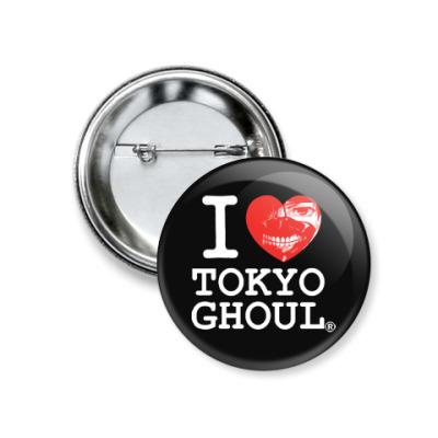 Значок 37мм Tokyo Ghoul