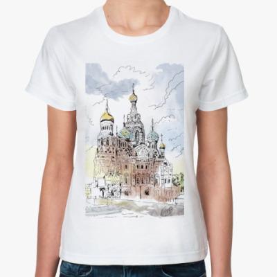 Классическая футболка Собор Спас-на-Крови