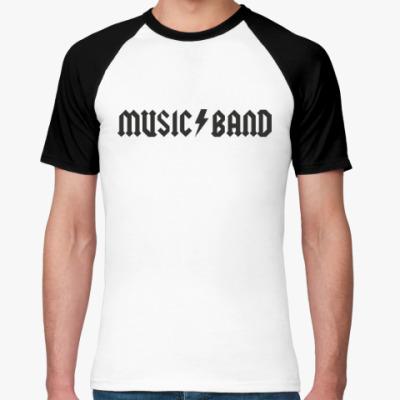 Футболка реглан Music Band