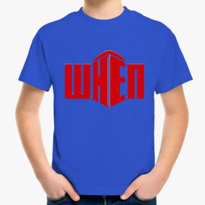 Детская футболка Когда - Тардис