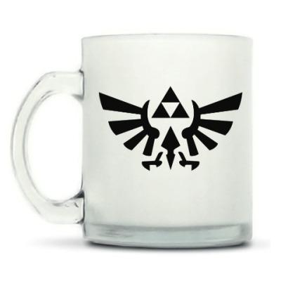 Кружка матовая Triforce