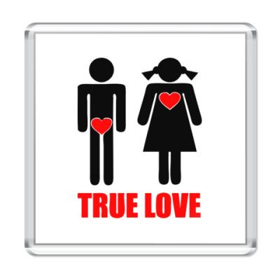 Магнит  True Love