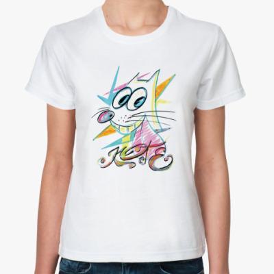 Классическая футболка  «Друг человека»