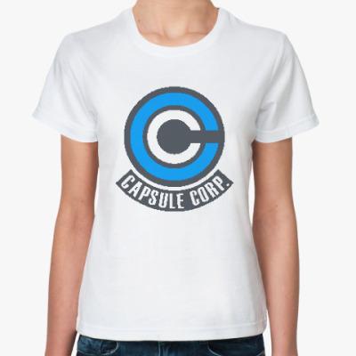 Классическая футболка Капсула Корп (Жемчуг Дракона)