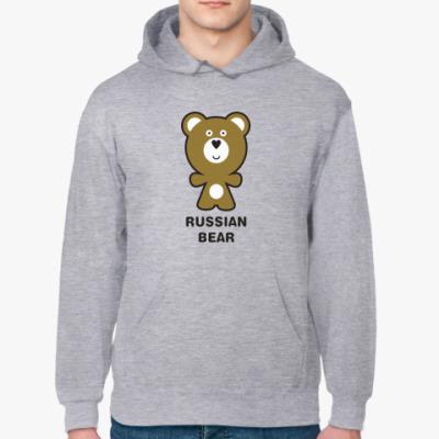 Толстовка худи RUSSIAN BEAR
