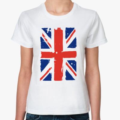 Классическая футболка Флаг Британии