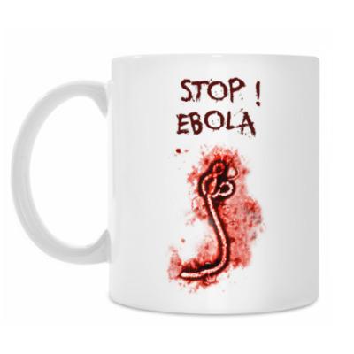 Кружка Stop! Ebola