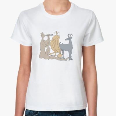 Классическая футболка  Антибы