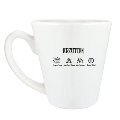 Чашка Латте Led Zeppelin