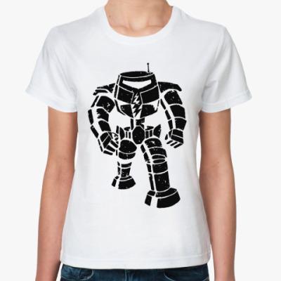 Классическая футболка  Шелдон 'Manbot'