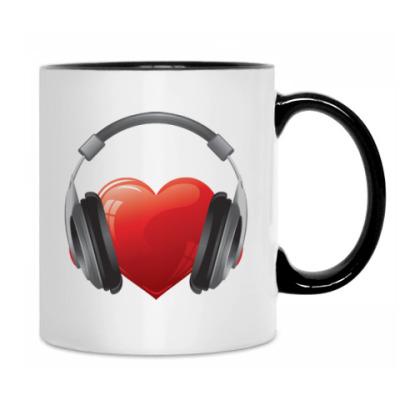 Кружка Music love