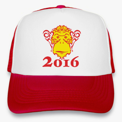 Кепка-тракер Год обезьяны 2016