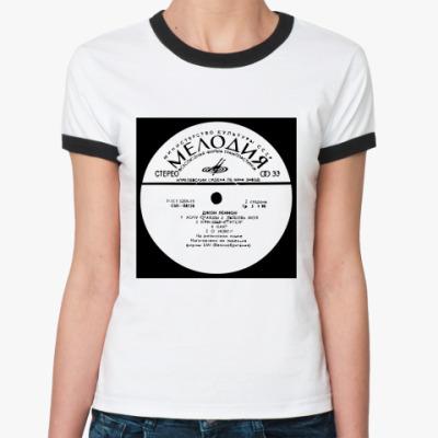 Женская футболка Ringer-T Мелодия