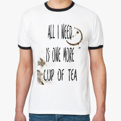 Футболка Ringer-T Чашка чая