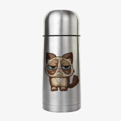 Термос Угрюмый кот Тард - Grumpy Cat
