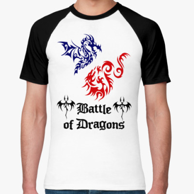 Футболка реглан Battle Dragons
