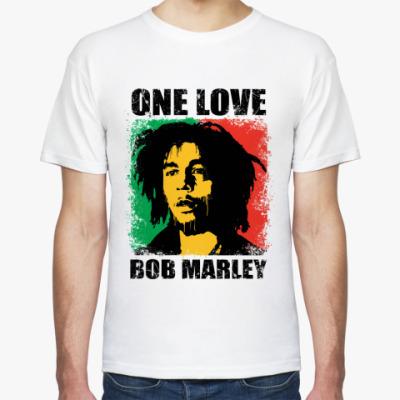 Футболка  'Bob Marley'