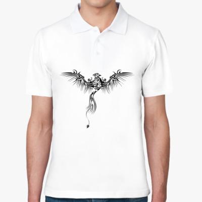 Рубашка поло Дракон